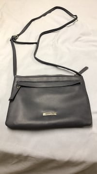 Gray leather roots crossbody bag Brampton, L6T