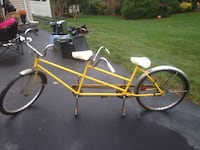 Yellow and white tandem bicycle North Haven, 06473