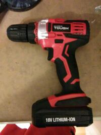 red and black Milwaukee cordless drill Edmonton, T5G 2P2