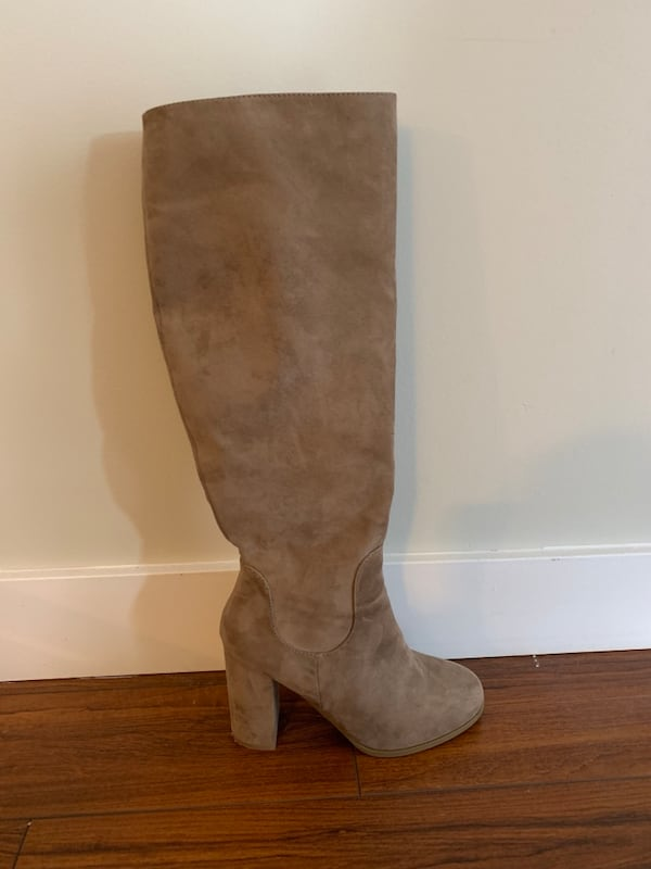 Never Worn Madden Girl Tan Suede Boots Size 7 9f0a9f59-a790-4ea3-9078-23f537ab7f1d