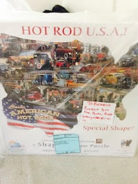 COLLECTIBLE HOT ROD U. S. A. JIGSAW PUZZLE  Chino, 91710