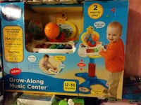 Grow-Along Music Center learning toy package Mississauga, L5B