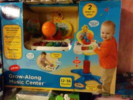 Grow-Along Music Center learning toy package