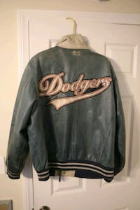 MLB Mirage leather Dodger jacket from the 80's Monrovia, 91016
