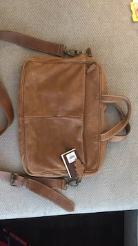 Roots Genuine Leather Slim Laptop Case in Tribe Guelph, N1G