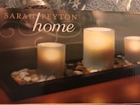 New Sara Payton candle holder with flameless candles  Los Angeles, 91367