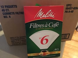 Melina coffee filters!
