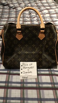 Fake Brown louis vuitton leather tote bag Toronto, M6J 2P6