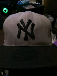 gray and black NY snapback cap Jamestown, 14701