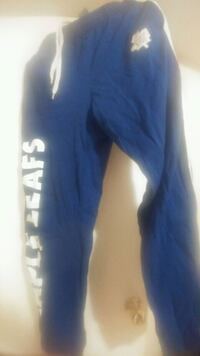 Blue and white Maple Leafs Pants  Toronto