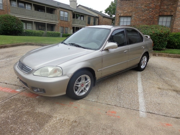 Used 2000 Honda Civic 4dr Sdn Ex Auto 1 Owner Cheap Cash Cars For