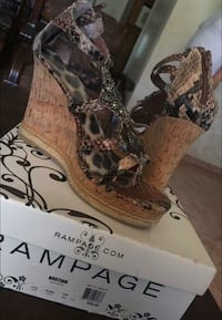 SIZE 8 WEDGES & BOOTIES FOR SALE El Paso