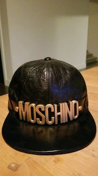 Authentic Moschino Leather Baseball Hat Vancouver, V5X 3R7