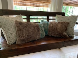 Set of designer pillows