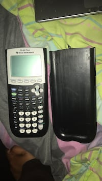 black Texas Instruments TI-84 Plus 47 km