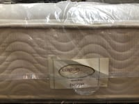 MATTRESS QUEEN COMFORT SOLUTION DISPLAY (financing  $50 down )