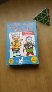 """Juego """"Mix and Match"""" Madrid, 28015"""