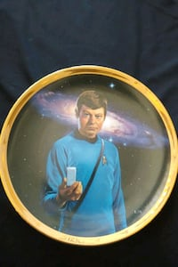 Star Trek TOS Dr. McCoy collector plate Mississauga, L4Z 1W3