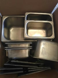 Professional stainless steel containers cold or  Richmond Hill, L4E 4Y7