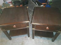 Nice solid wood side tables Tampa, 33647