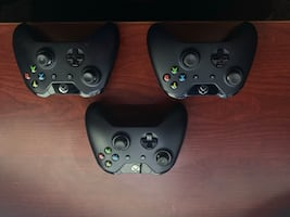 3 Xbox controllers (negotiable)