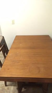 brown wooden table with chairs Ottawa, K1K 3X9