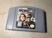 WCW vs. NWO World Tour - Nintendo N64 Game Authentic Lowellville, 44436
