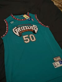 Vancouver Grizzlies Jersey Vernon, V1T 6S7