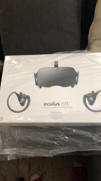 white and black VR headset box Toronto, M5P 0A1