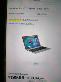 """10"""" tablet with leather case an keyboard (new)"""