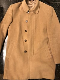 brown double-breasted coat Ajax, L1S