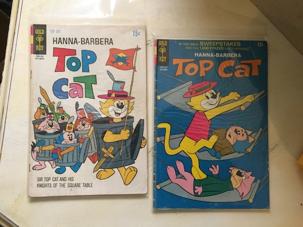 Top cat issues