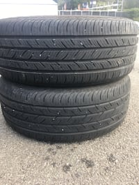 2 tires 215/55r16 continental $60 Sterling, 20166