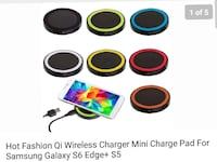 assorted color wireless charger lot screenshot