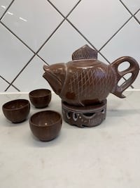 Stone fish Tea set ( include 3 tea cup) 多伦多, M1S 2L7