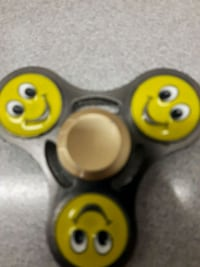 three yellow, red, and green fidget spinners Belleville, K8P 4E1