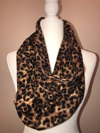 Old Navy Cheetah Scarf