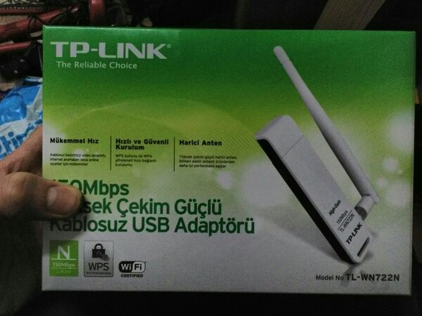 Used TP-LINK TL-WN722N V1 1 Wireless for sale in Istanbul - letgo