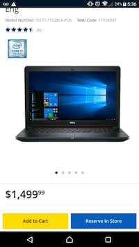 Dell Inspiron Gaming laptop  Toronto