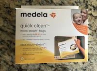 Brand new box of Medela Quick Clean microsteam bags Calgary, T3M 2G7