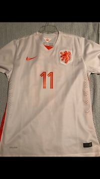 Netherlands Nat'l Team Robben Jersey Cary, 27513