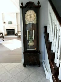 brown wooden grandfather's clock Coquitlam, V3E 3L9