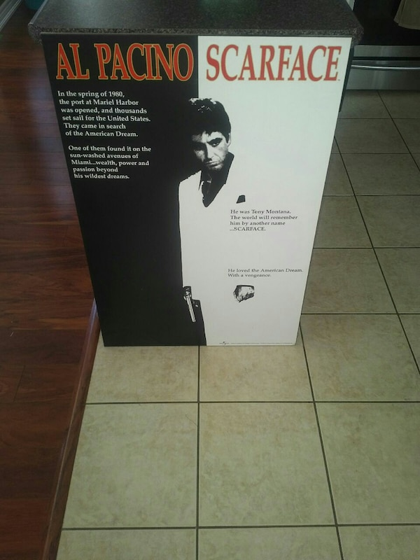 Al Pacino Scarface picture