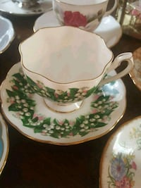 QueenAnne Fine Bone China Teacup and Saucer Calgary, T2Y 2W5