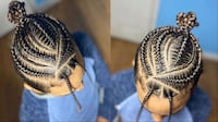 Hair styling | braids | slayedbyhazel Philadelphia