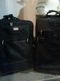 two black soft-case luggages 508 km