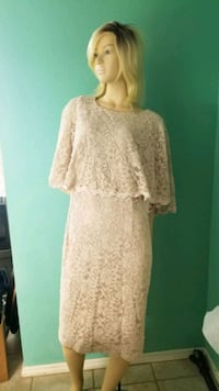 mother of the bride dress size 16W new with tags  Broken Arrow, 74012