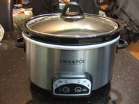 CROCK POT stainless steel Cook and Carry Smart-Pot Slow Cooker3140 Mississauga