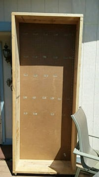 Peg board on wheels 7.5 tall 3 feet wide Omaha, 68164