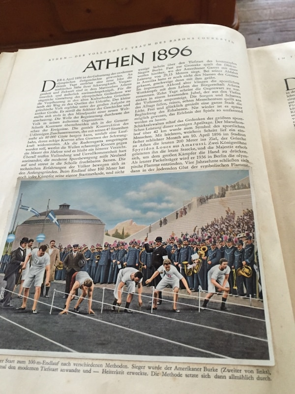 1936 Olympic Books 1 & 2. Made in Germany 6f623859-8440-4a20-a646-9e11d01d556d